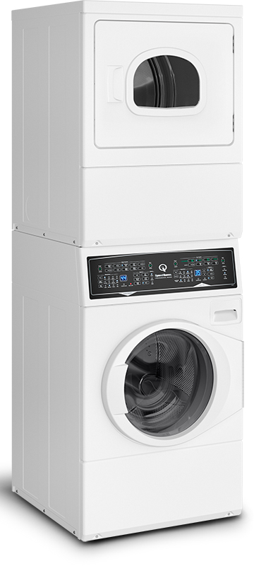 Speed Queen ATEE9A 96.8L/198L Stacked Electric Washer Dryer Combo (ATEE9AWP433AW01)
