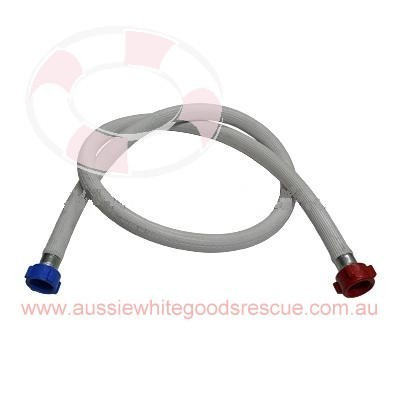 Hose Inlet 1.3m x 12.5mm Red Str Tail